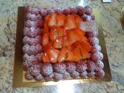 La tarte du printemps - les entremets aux fruits - Patisserie Jager - Voir en grand