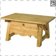table basse en pin boutique c t campagne. Black Bedroom Furniture Sets. Home Design Ideas