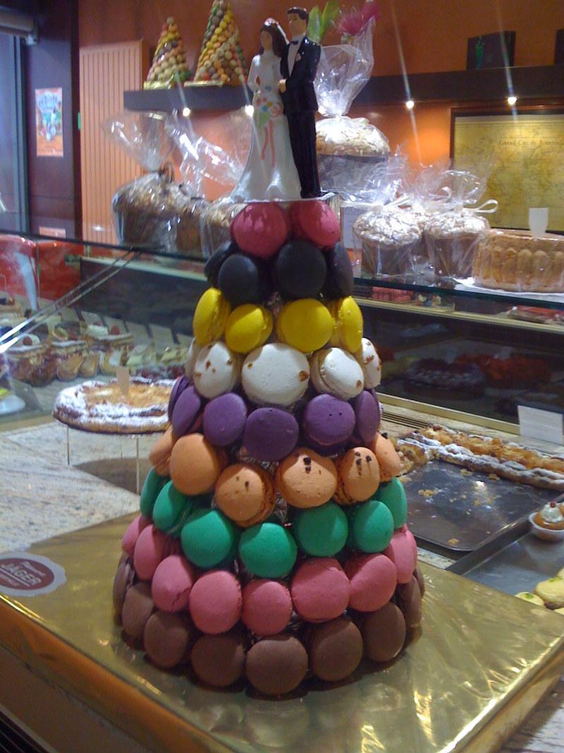 La pyramide de macarons , Les macarons , Patisserie Jager