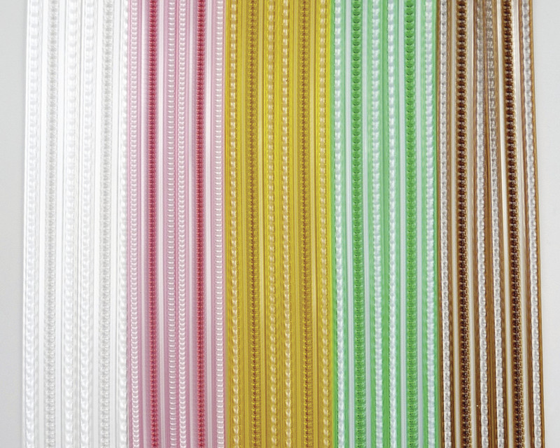 rideau porti re chenille perle buis corde lani re pvc. Black Bedroom Furniture Sets. Home Design Ideas