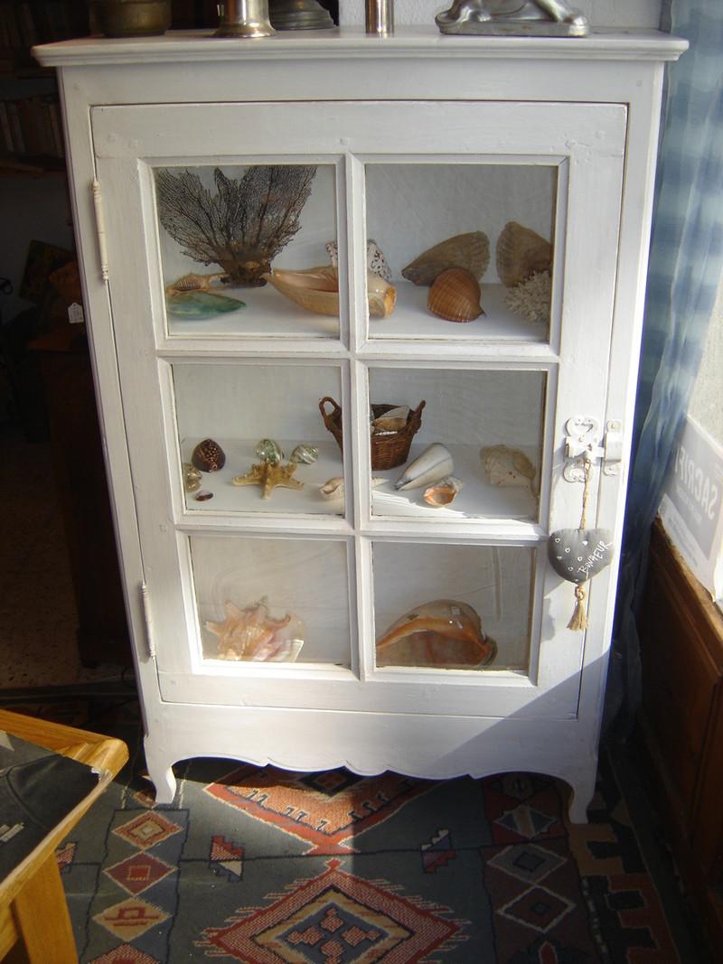Meuble vitrine vendu l atelier du rat d 39 acier for Meuble vitrine une porte