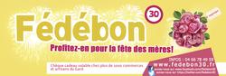 Offrez des chèques cadeaux Fédébon pour la fête des Mères ! - Voir en grand