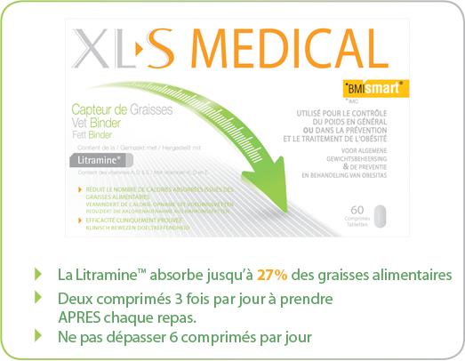 Xls medical capteur de graisses bte de 60 pas cher - Xls medical capteur de graisse pas cher ...