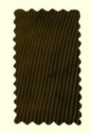Velours marron - pantalon Largeot - BENOIT ABBAYE - Voir en grand