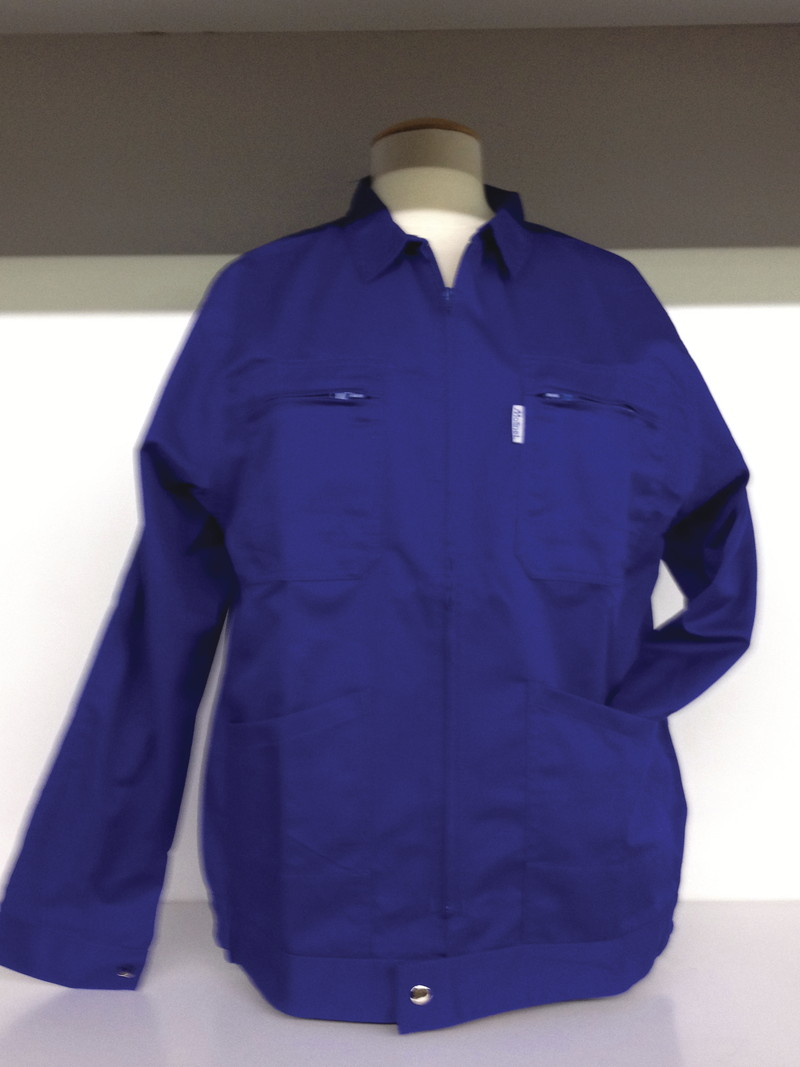 Veste de travail homme molinel bleu bugatti vetements de - Vetement de travail grande taille homme ...