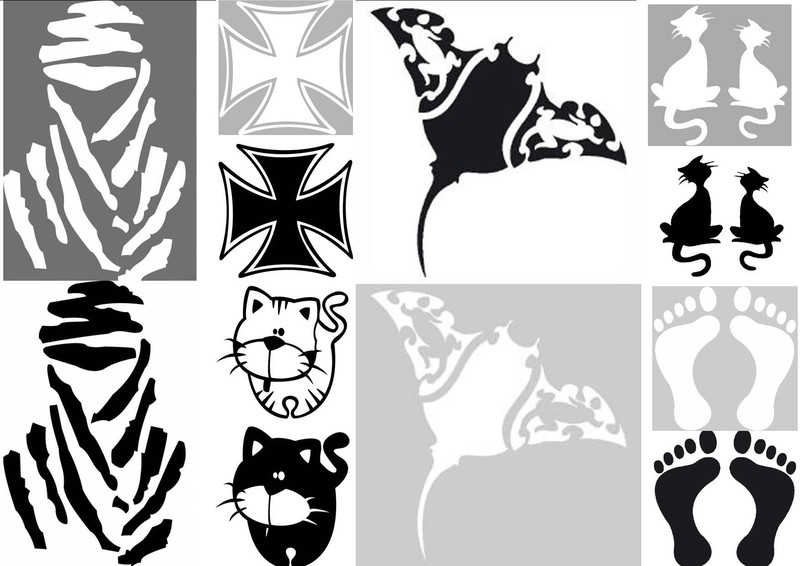 Pics Photos  Stickers Noir Et Blanc