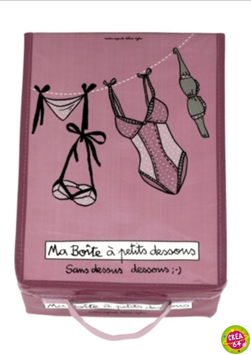 boite petit dessous dlp oloron objet du quotidien cadeau et d coration. Black Bedroom Furniture Sets. Home Design Ideas