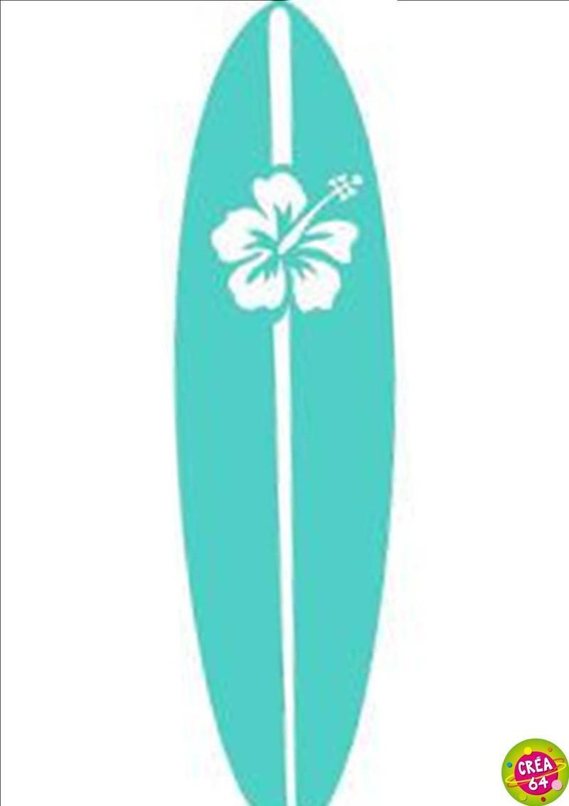 STICKERS PLANCHE DE SURF - CREA.64 Oloron Objet du ...