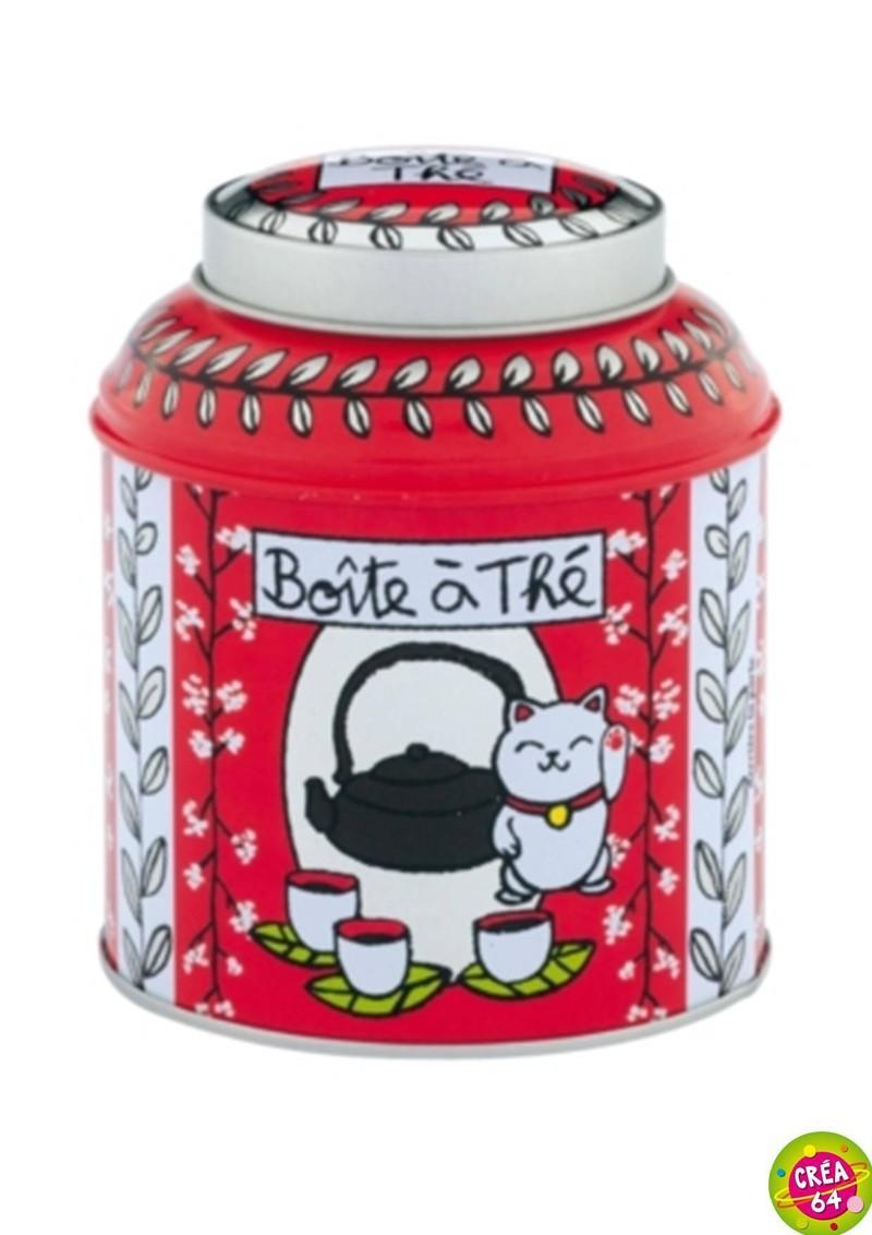 Boite th en vrac t 39 es in love dlp oloron objet du quotidien cadeau et d coration - Boite a the en vrac ...