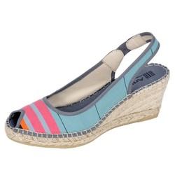 sandale compensée biron - Voir en grand