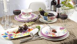 Anmut Flowers - Table - Villeroy et Boch - Disponible aussi au magasin Gallazzini - Voir en grand