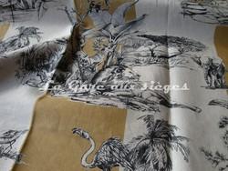 Tissu Pierre Frey - Safari - réf: F2899-001 Havane - Voir en grand
