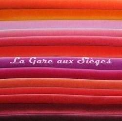 Tissu Lelièvre - Velours Cosmos - réf: 383 - Voir en grand