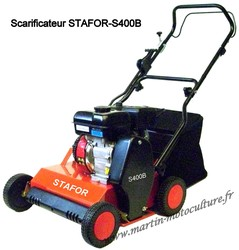 Scarificateur STAFOR S400B chez www.martin-motoculture.fr - Voir en grand