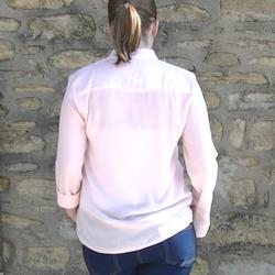 Chemise rose pâle - Voir en grand