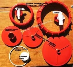 Accessoires de tonneaux GRAF - La gamme GRAF - MARTIN Motoculture - Voir en grand
