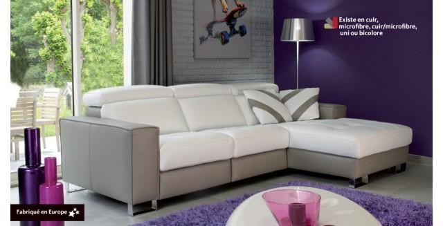 fauteuil cabriolet cuir mobilier de france