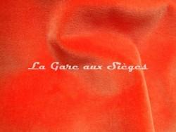 Tissu Lelièvre - Velours Cosmos - réf: 383-17 Capucine - Voir en grand