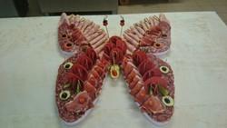 Plateaux de viande aussi en papillon BOUCHERIE MORIN - Voir en grand