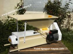 Egrappoir motorisé pour raisins, groseilles, etc. - Broyeurs à fruits électrique - MARTIN Motoculture - Voir en grand