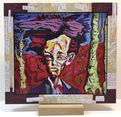 Cadre création arthur Rimbaud 1 face - Voir en grand