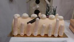 vacherin framboise vanille