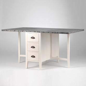 table allonge rabattable zing amadeus maison and deco. Black Bedroom Furniture Sets. Home Design Ideas