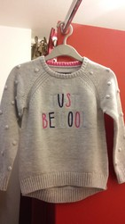 """Pull Fille """"Just Be Cool"""" Joules - JOULES - L'ile o'lutins - Voir en grand"""