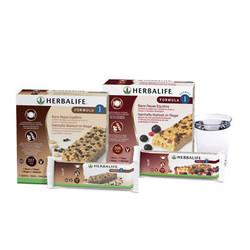 Barre repas Formula 1 Chocolat - BOISSON NUTRITIONNELLE - HERBALIFE Contrôle de Poids  - Voir en grand