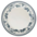 assiette plate faustine bleu
