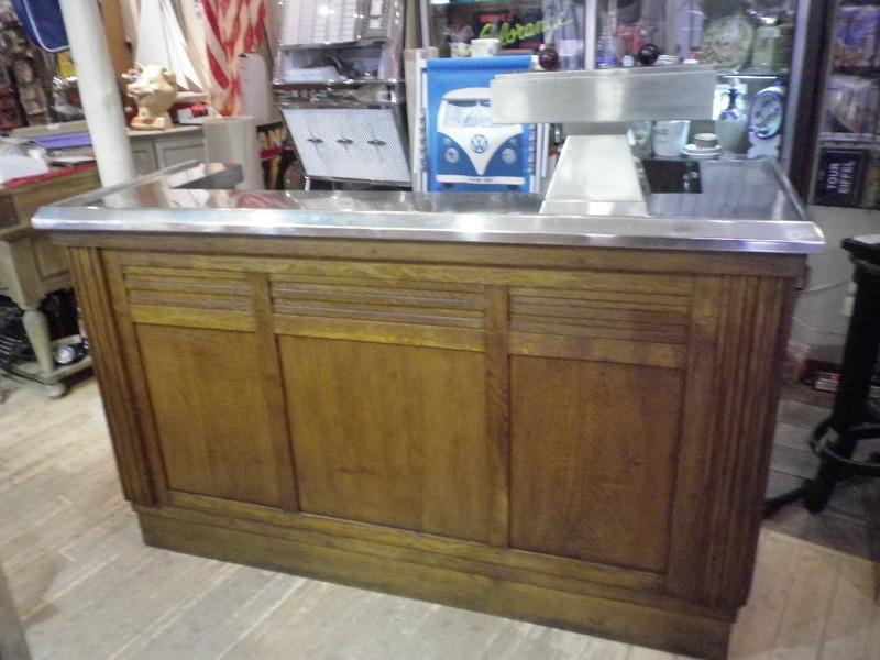 Antiquit ancien bar comptoir de caf estaminet ann e 50 for Achat de meuble ancien