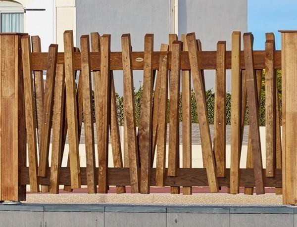 Cl ture bois original papyrus tarif et prix b a bois for Prix d une cloture en bois