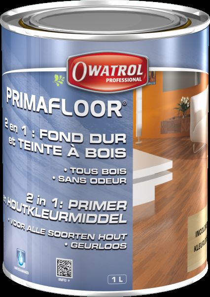 primafloor durieu fond dur teintes produit pour parquet bois owatr b a bois. Black Bedroom Furniture Sets. Home Design Ideas