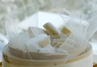 Calissons au pain d'épices et miel - Voir en grand
