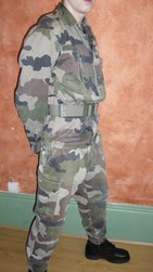 tenue f2 camouflage centre europe - Voir en grand