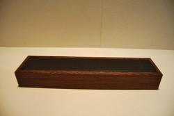 Plumier en bois et cuir  - Espace Ecriture - CHABRAND - Voir en grand