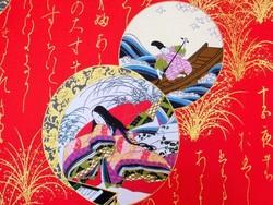 "Yukata  ""Le dit du Genji"" - Voir en grand"