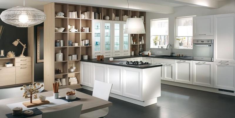 cuisine linka blanc cuisines meubles bernardo. Black Bedroom Furniture Sets. Home Design Ideas