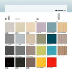 Panel de couleurs Marmoleum click de Forbo - Naturel21 - Voir en grand