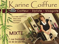 Karine Coiffure - Beauté, santé, bien-être - UCA de SAULIEU - Voir en grand