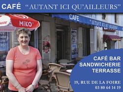 Café Autant Ici Qu'Ailleurs - Bars, brasseries, restaurants - UCA de SAULIEU - Voir en grand