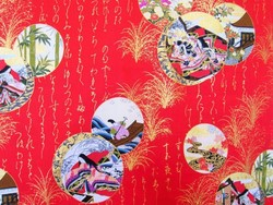 yukata rouge - Voir en grand