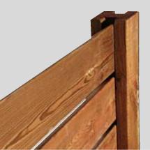 lame h bois pour cl ture ou palissade b a bois. Black Bedroom Furniture Sets. Home Design Ideas