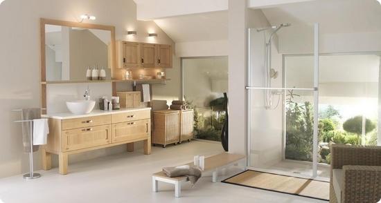 Salle de bain dao mobalpa cuisines meubles bernardo for Carrelage salle de bain zen