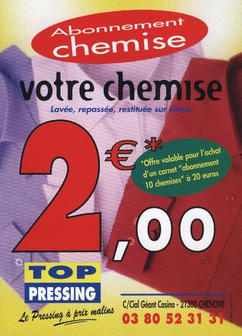 Abonnement nettoyage chemises top pressing - Tarif nettoyage tapis pressing ...