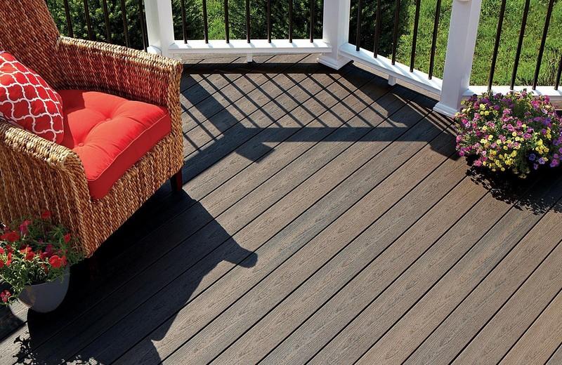 Sanctuary terrasse en bois composite fiberon fiberdeck b a bois - Latte composite terrasse ...