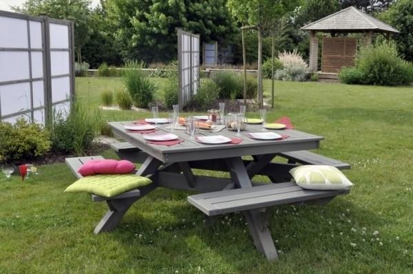 carré jardin bois - 28 images - table pique nique carr 233 e en bois ...