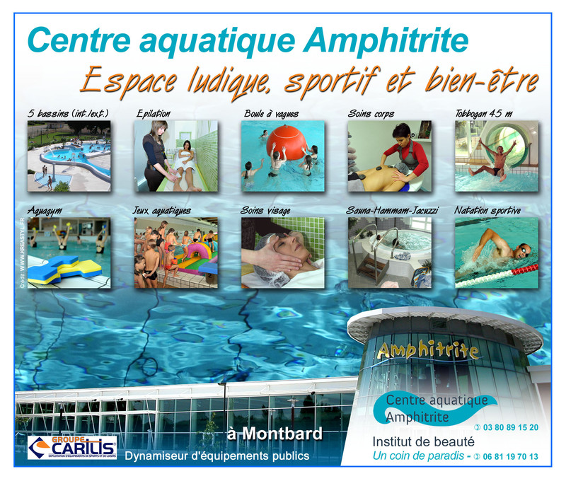 Centre aquatique amphitrite ucam union commerciale de for Piscine amphitrite