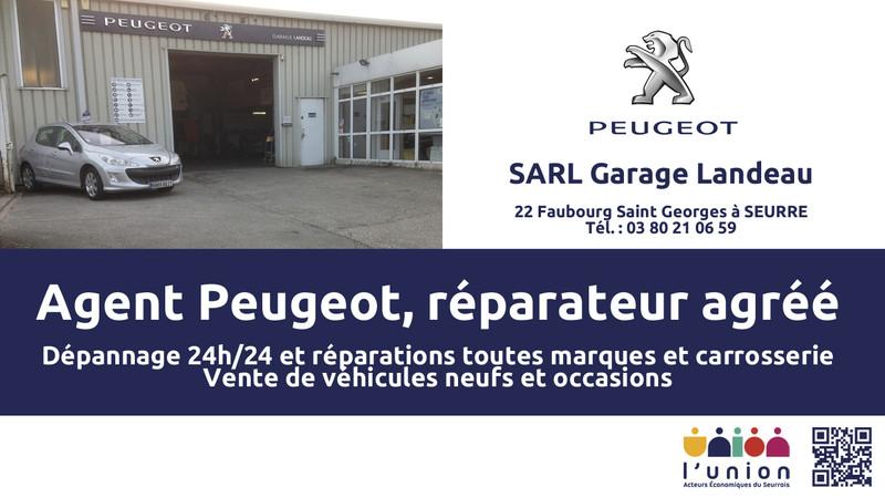 Garage peugeot landeau seurre achat c te d 39 or for Garage peugeot villeneuve saint georges