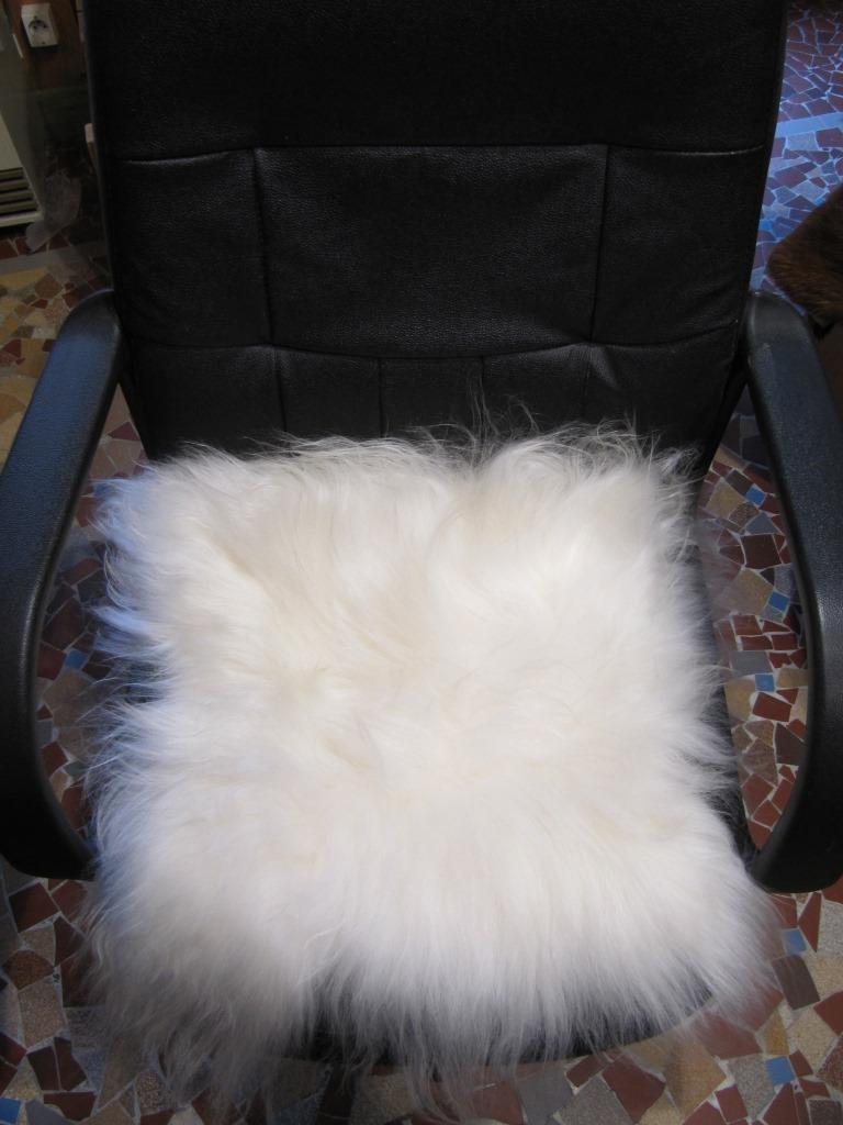 Dessus de chaise mouton islande la petite boutique - Dessus de chaises ...